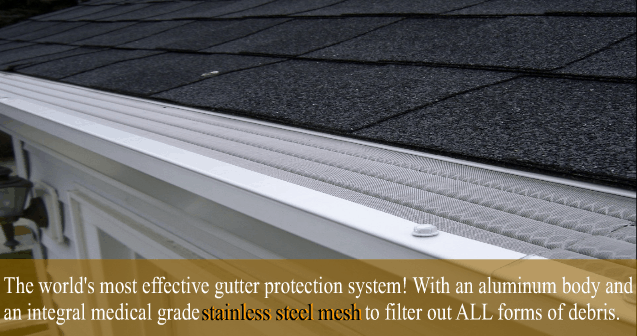 Leaf Solution Gutter Guards. The world's most cost-effective gutter guarding system